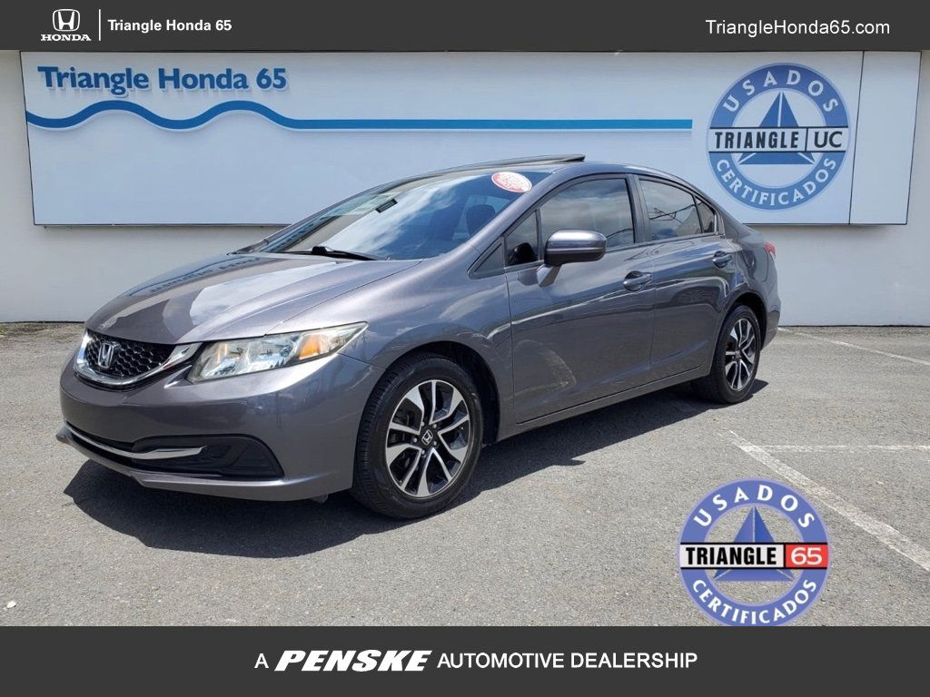 2014 Honda Civic Sedan 4dr CVT EX Por Solo $17,995.00