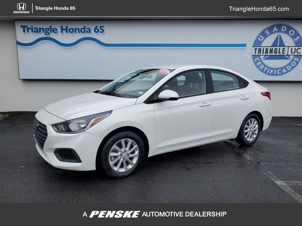 Pre-Owned 2020 Hyundai Accent SEL Sedan IVT